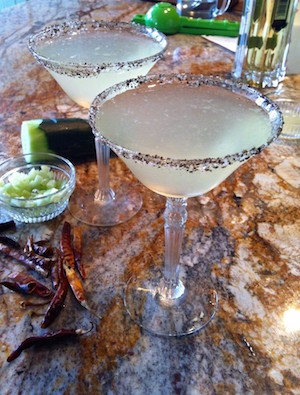 Cucumber Chile Martini