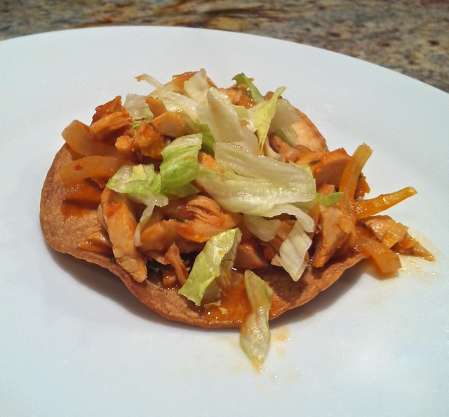 Chipotle Turkey Tostadas