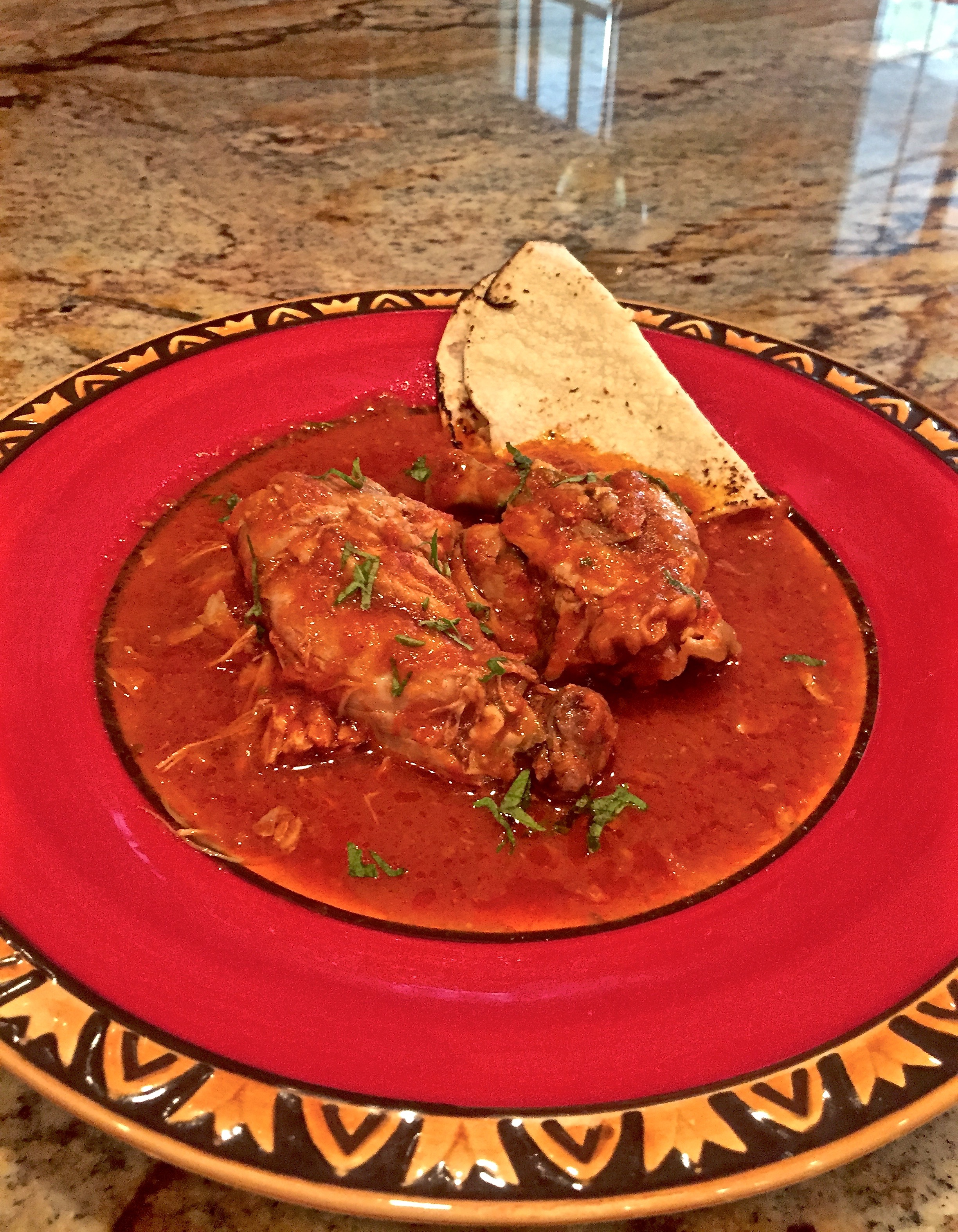 "Crock Pot Recipe:  ""Pollo Ranchero"""