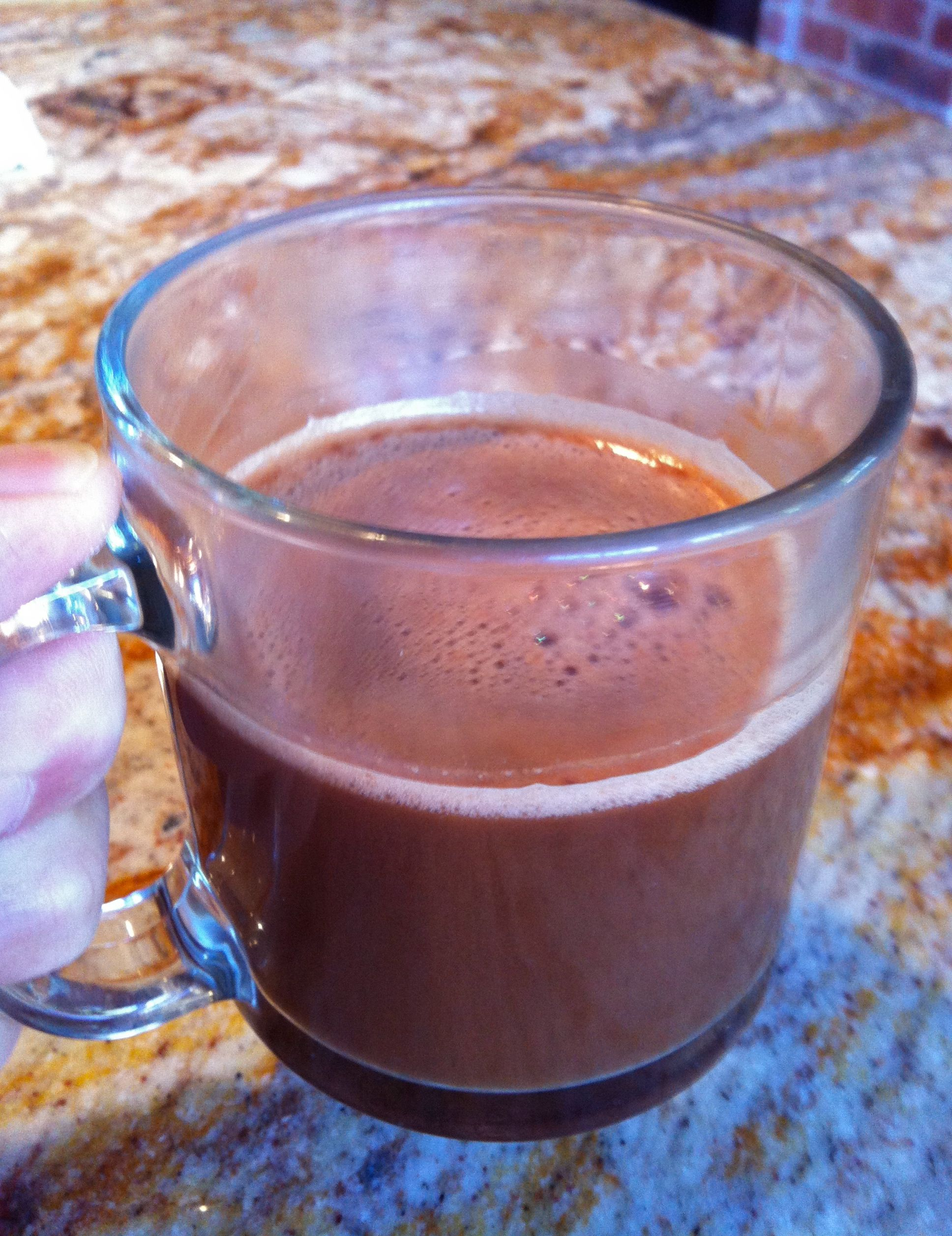 The Original Chocolate Drink:  Why You Should Skip The Milk
