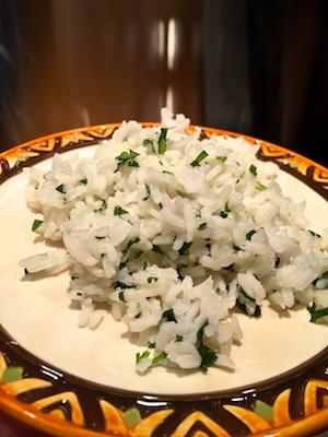 Cilantro Rice – Arroz Con Cilantro