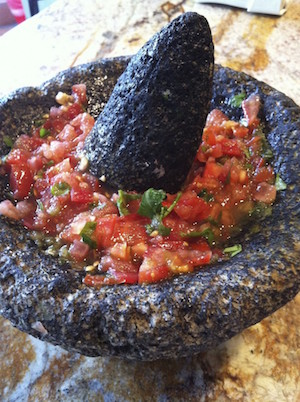 Traditional Mexican Salsa:Serrano And Tomato