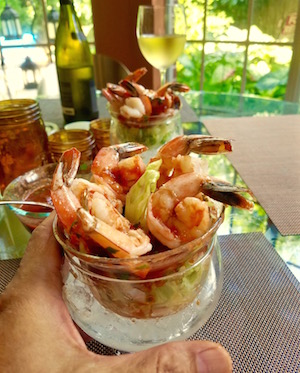 Serrano Shrimp Cocktail