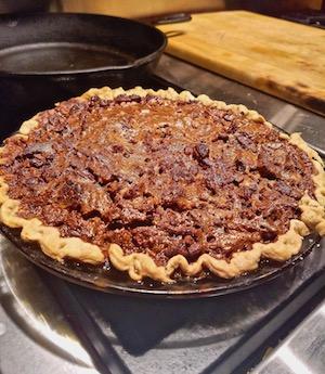 Bourbon Pecan Pie Recalls Emma Tenayuca