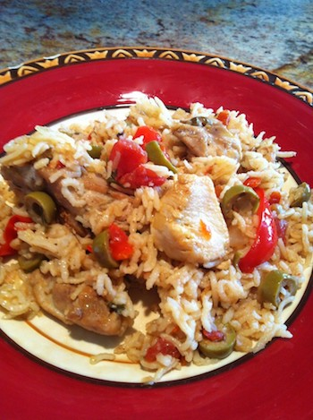 Chicken Fricase, A Puerto Rican Cousin Of Arroz Con Pollo!