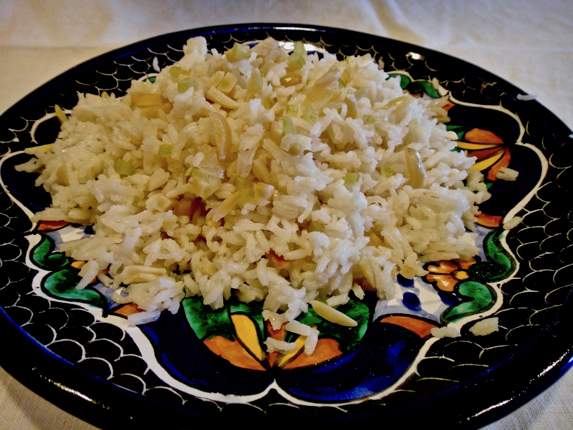 Arroz Con Almendras – Almond Rice Adds Elegant Crunch