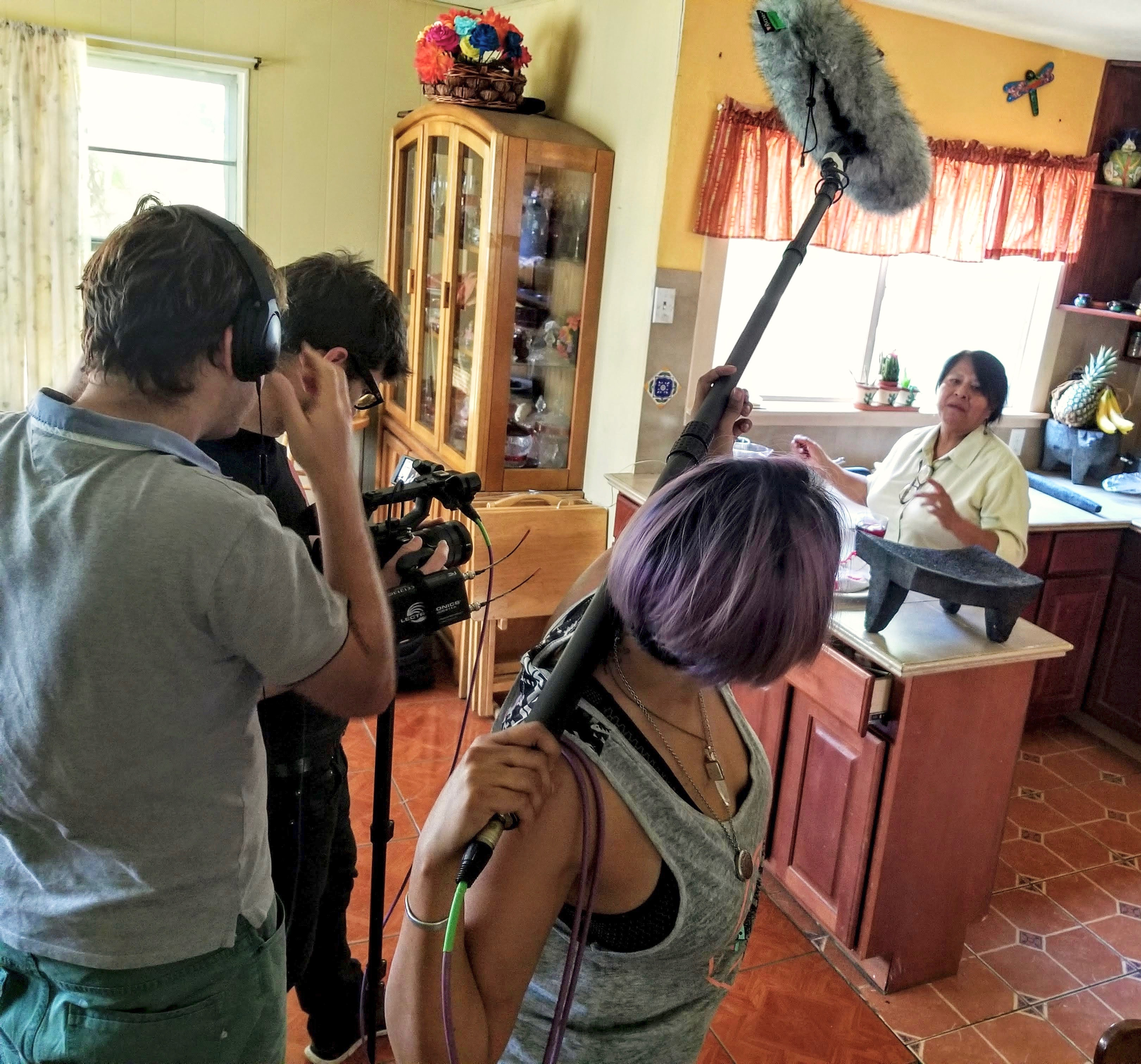 Rosalia Vargas in new food documentary