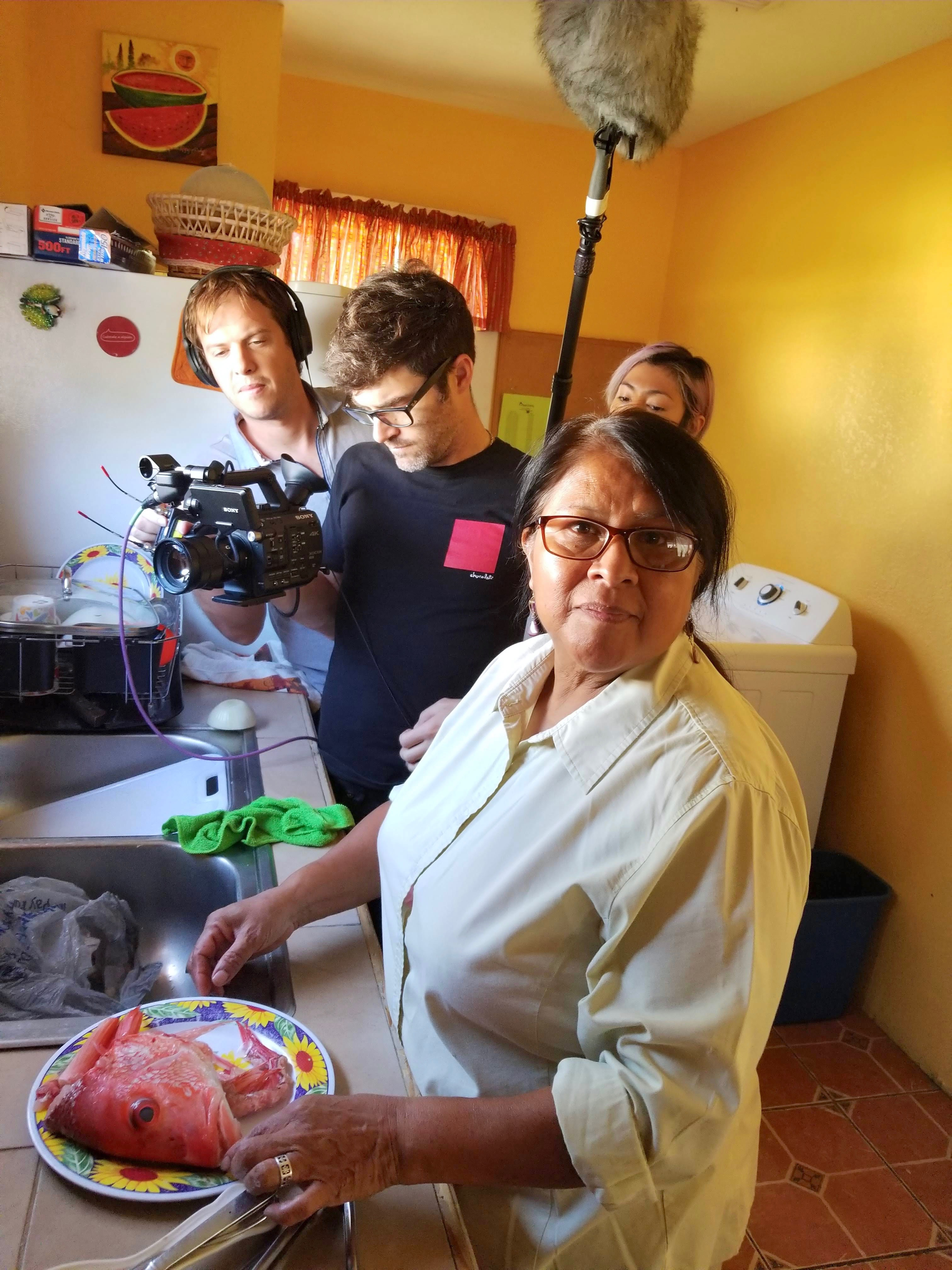"Food documentary features ""comida casera"""
