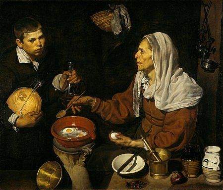 Old Woman Frying Eggs by Velazquez