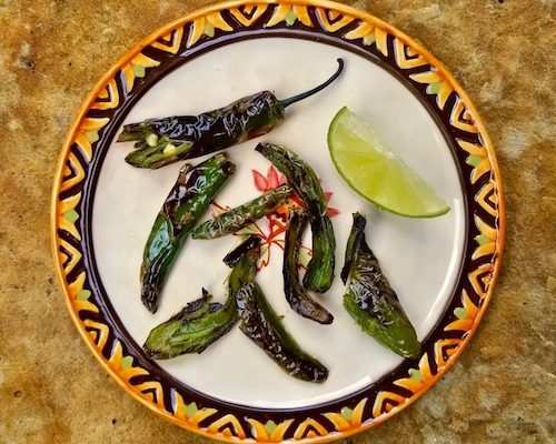 Chiles Toreados, Your Ultimate Party Snack