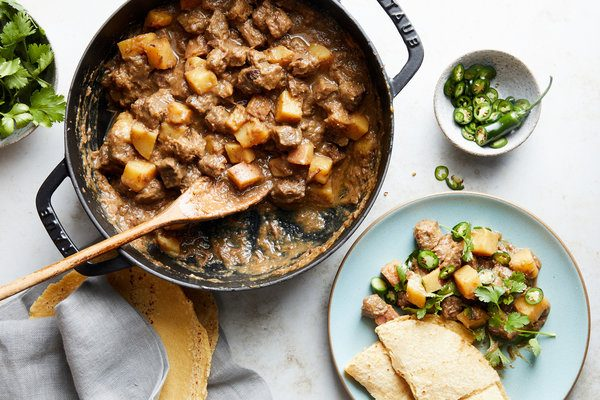 My Carne Guisada in the New York Times
