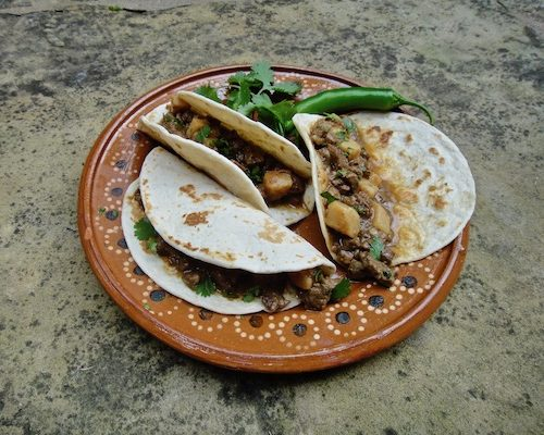 Favorite Tacos I'm Cooking In Moscow, Russia