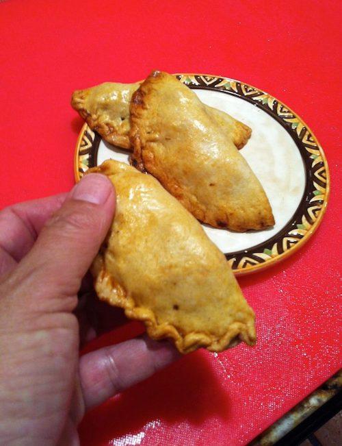 Turcos, Vintage Sweet Pork Empanadas