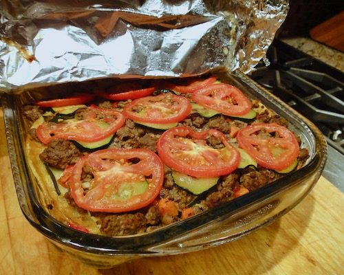"Tortilla Casserole, Delicious ""Stay At Home"" Dinner"
