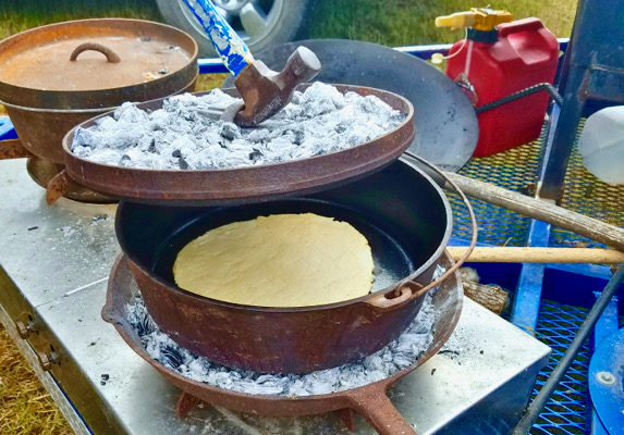 Mesquite Country Bread, Pan De Campo
