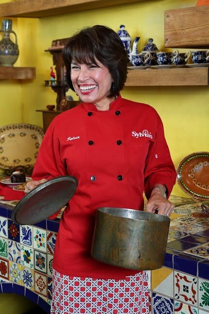 Sylvia Casares's two restaurants put the foods of her youth front and center. --Sylvia Casares