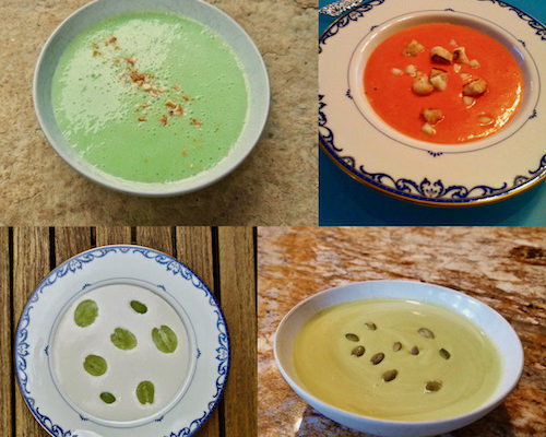 Two Mexican and Two Spanish Soups to Brighten Your Days!